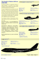Example page - Growth of modern airliners serving HK