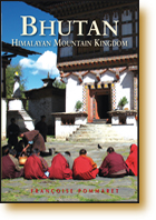 Cover image of Odyssey Bhutan guide by Francoise Pommaret