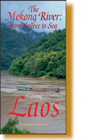 Book Cover of Mekong River Map - Laos - 978-962-217-827-4