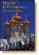 Book cover of Odyssey guide to Moscow and St Petersburg